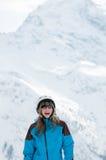 νεολαίες σκιέρ πορτρέτο&ups Στοκ φωτογραφίες με δικαίωμα ελεύθερης χρήσης