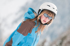 νεολαίες σκιέρ Στοκ φωτογραφίες με δικαίωμα ελεύθερης χρήσης