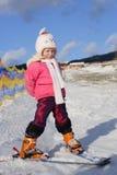 νεολαίες σκιέρ Στοκ Φωτογραφία