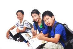 νεολαίες σπουδαστών στοκ φωτογραφία με δικαίωμα ελεύθερης χρήσης
