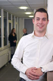 νεολαίες συναδέλφων επιχειρηματιών στοκ εικόνα