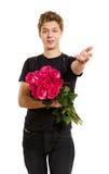 νεολαίες τριαντάφυλλων στοκ φωτογραφία
