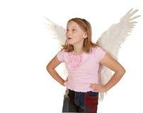 νεολαίες φτερών κοριτσ&iota Στοκ Εικόνα