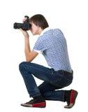 νεολαίες φωτογράφων ατόμων Στοκ εικόνες με δικαίωμα ελεύθερης χρήσης