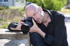 νεολαίες φωτογράφων Στοκ Φωτογραφία