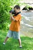 νεολαίες φωτογράφων Στοκ Φωτογραφίες