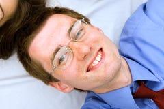 νεολαίες χαμόγελου πορτρέτου επιχειρηματιών Στοκ φωτογραφία με δικαίωμα ελεύθερης χρήσης