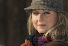 νεολαίες χειμερινών γυν Στοκ Φωτογραφίες