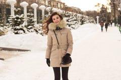 νεολαίες χειμερινών γυ&nu στοκ εικόνα με δικαίωμα ελεύθερης χρήσης