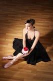 νεολαίες ballerina Στοκ φωτογραφία με δικαίωμα ελεύθερης χρήσης