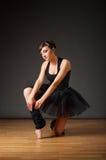νεολαίες ballerina Στοκ Φωτογραφία