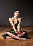 νεολαίες ballerina Στοκ εικόνες με δικαίωμα ελεύθερης χρήσης