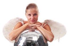 νεολαίες disco σφαιρών αγγέλ&o Στοκ Εικόνες