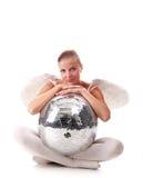 νεολαίες disco σφαιρών αγγέλ&o Στοκ φωτογραφία με δικαίωμα ελεύθερης χρήσης