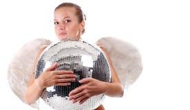 νεολαίες disco σφαιρών αγγέλ&o Στοκ φωτογραφίες με δικαίωμα ελεύθερης χρήσης