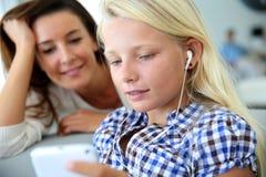 Νεολαία και τεχνολογίες Στοκ Φωτογραφίες