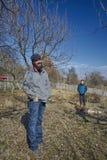 νεολαίες αγροτών Στοκ φωτογραφίες με δικαίωμα ελεύθερης χρήσης