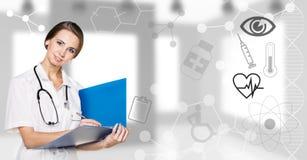 νεολαίες γυναικών γιατ&rh απεικόνιση αποθεμάτων