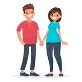 νεολαίες θέματος σχέσεων ανθρώπων φίλων εκπαίδευσης ζευγών Χέρια λαβής ανδρών και γυναικών σε μια άσπρη πλάτη ελεύθερη απεικόνιση δικαιώματος