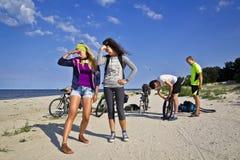 νεολαίες φίλων Στοκ φωτογραφία με δικαίωμα ελεύθερης χρήσης