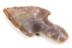 Νεολιθικό arrowhead Στοκ εικόνες με δικαίωμα ελεύθερης χρήσης