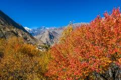 Νεπάλ - φθινόπωρο στα Ιμαλάια στοκ φωτογραφίες με δικαίωμα ελεύθερης χρήσης