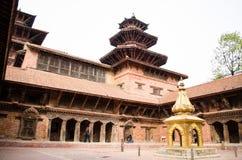 Νεπάλ-Patan Durbar τετραγωνική μια από τις κύριες θέες του Kathmand Στοκ εικόνα με δικαίωμα ελεύθερης χρήσης