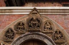 Νεπάλ-Patan Durbar τετραγωνική μια από τις κύριες θέες του Kathmand Στοκ φωτογραφία με δικαίωμα ελεύθερης χρήσης