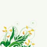νεράιδα ανασκόπησης floral Στοκ Φωτογραφία