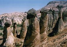 νεράιδα Τουρκία καπνοδόχων cappadocia Στοκ φωτογραφία με δικαίωμα ελεύθερης χρήσης