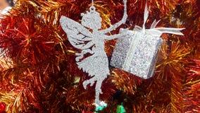 Νεράιδα - το σύμβολο των Χριστουγέννων Στοκ φωτογραφίες με δικαίωμα ελεύθερης χρήσης