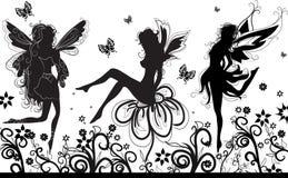 νεράιδες χορού διανυσματική απεικόνιση