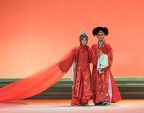 """Νεράιδα και ανθρώπινο γάμος-Kunqu Opera""""Madame άσπρο Snake† Στοκ Εικόνες"""