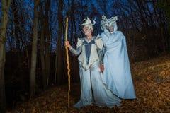 Νεράιδα και φάντασμα Στοκ Εικόνες
