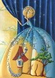 Νεράιδα της νύχτας Διανυσματική απεικόνιση