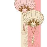 Νεράιδα-φω'τα Μεγάλα φανάρια παραδοσιακού κινέζικου Στοκ φωτογραφίες με δικαίωμα ελεύθερης χρήσης