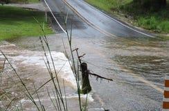 Νερά πλημμύρας Στοκ εικόνες με δικαίωμα ελεύθερης χρήσης