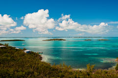 Νερά Bahama Στοκ εικόνες με δικαίωμα ελεύθερης χρήσης