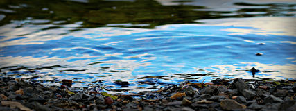 Νερό ακρών Στοκ φωτογραφίες με δικαίωμα ελεύθερης χρήσης