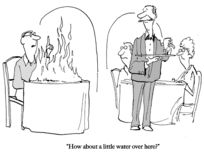 Νερό αναγκών πελατών για την πυρκαγιά απεικόνιση αποθεμάτων