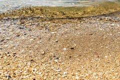 Νερό ανασκόπησης Στοκ φωτογραφίες με δικαίωμα ελεύθερης χρήσης