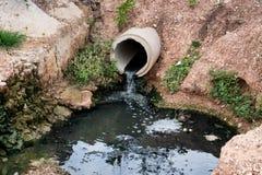 Νερό αποβλήτων Στοκ εικόνα με δικαίωμα ελεύθερης χρήσης