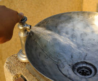 Νερό λεκανών Στοκ φωτογραφία με δικαίωμα ελεύθερης χρήσης