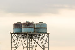 Νερό δεξαμενών επάνω υψηλό Στοκ φωτογραφία με δικαίωμα ελεύθερης χρήσης