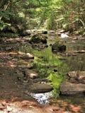 Νερό και βράχοι στον όρμο Cades Στοκ Εικόνες