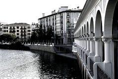 Νερό και πύργοι Στοκ Εικόνα