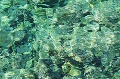 Καθαρίστε το υπόβαθρο νερού Στοκ εικόνα με δικαίωμα ελεύθερης χρήσης