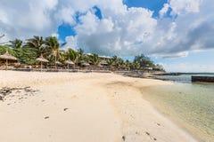 Νερό & παραθαλάσσιο θέρετρο στο νησί του Μαυρίκιου, Ινδικός Ωκεανός Στοκ φωτογραφίες με δικαίωμα ελεύθερης χρήσης