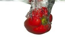 Νερό πιπεριών Στοκ Φωτογραφίες