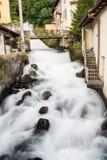 Νερό ποταμού γαλακτώδες στοκ εικόνα με δικαίωμα ελεύθερης χρήσης